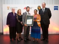 Chris Serfontein, CSIR CMORE Project Team – 2nd Place